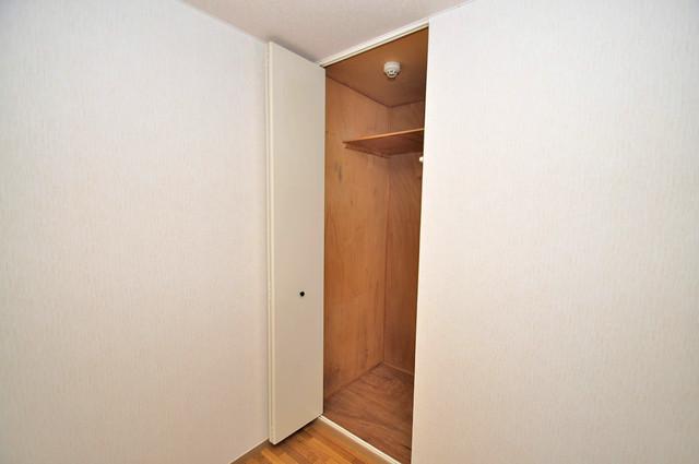 サンビレッジ・ラポール 各所に収納があるので、お部屋がすっきり片付きますね。
