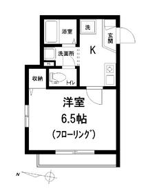 プライムコート3階Fの間取り画像