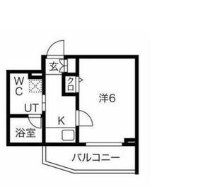スパシエガーデン川崎梶ヶ谷2階Fの間取り画像