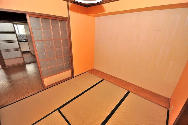 コンラッド長瀬 和室のある、とにかく広い間取です。