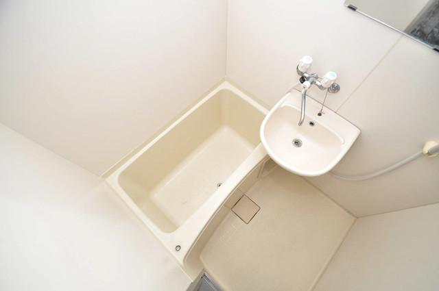 新深江ツリガミビルパートⅠ シャワー一つで水回りが掃除できて楽チンです