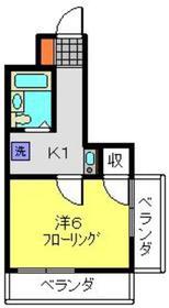 アムールフジ3階Fの間取り画像