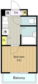 エポックASA2階Fの間取り画像