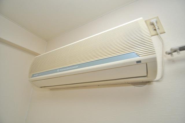 グリーンハウス エアコンが最初からついているなんて、本当に助かりますね。