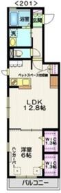 大岡山駅 徒歩13分1階Fの間取り画像