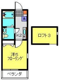 V Stage Ⅱ2階Fの間取り画像