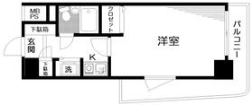 日神パレステージ吉祥寺7階Fの間取り画像