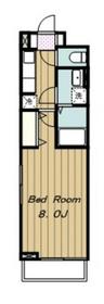 セレーノ22階Fの間取り画像