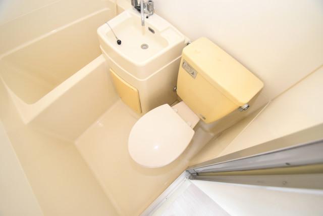 ロイヤルハイツ深江南 シャワー1本で水回りが簡単に掃除できますね。