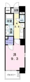 アウローラ・ミッテ6階Fの間取り画像