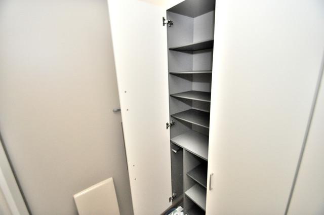 シャーメゾンアマヤハイツ 玄関には大容量のシューズボックスがありますよ。