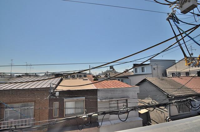 セゾンクレアスタイル新今里 この見晴らしが日当たりのイイお部屋を作ってます。