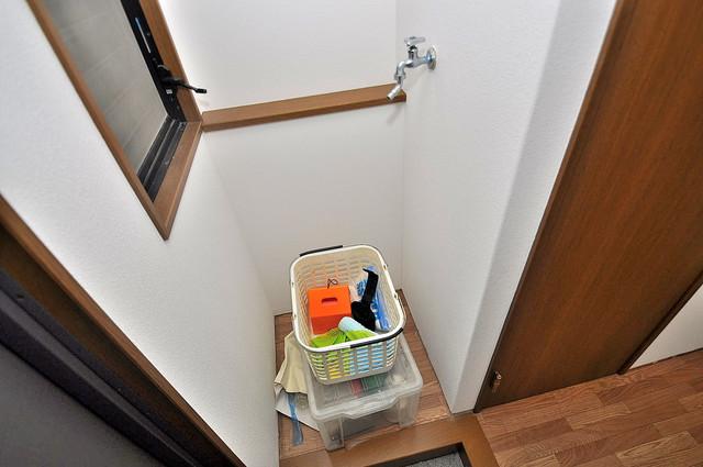 アネックスサンタオ 室内に洗濯機置き場があれば雨の日でも安心ですね。