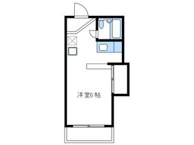 メゾンドエルモ2階Fの間取り画像