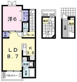 シェーネ3階Fの間取り画像