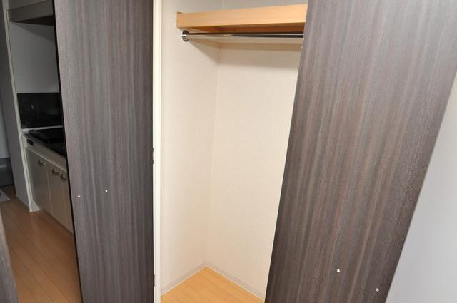 CASSIA高井田NorthCourt もちろん収納スペースも確保。いたれりつくせりのお部屋です。