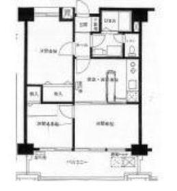 横浜ダイカンプラザスポーツメント8階Fの間取り画像