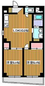 和光市駅 徒歩11分4階Fの間取り画像
