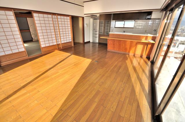 アドバンス渋川 ペントハウス ご家族が自然と集まる空間になりそうですね。