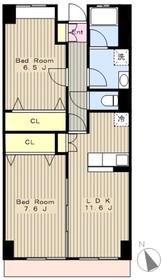 La Casa del Pozo Blancoラカーサデルポゾブランコ2階Fの間取り画像