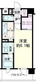デュオステージ横濱赤門通り 4階Fの間取り画像