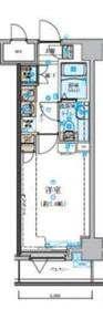 日本大通り駅 徒歩5分4階Fの間取り画像