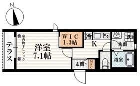 中井駅 徒歩1分1階Fの間取り画像