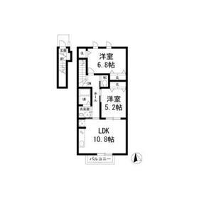 casa eterna2階Fの間取り画像
