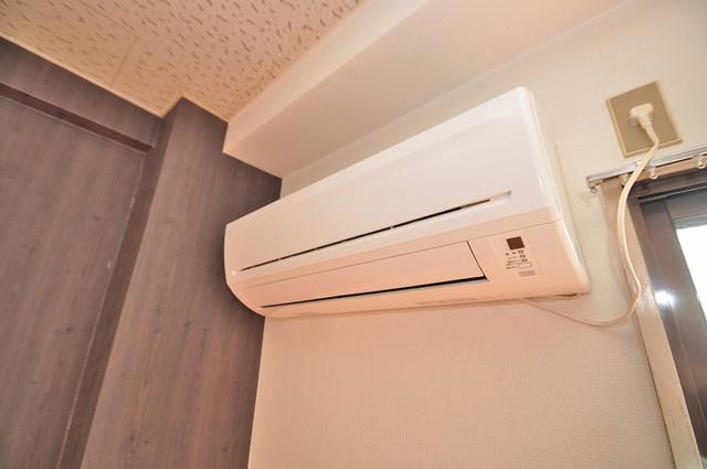 ハイツ片岡Ⅱ れしいエアコン標準装備。快適な生活が送れそうです。