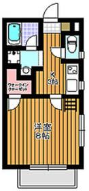 マルグリット2階Fの間取り画像