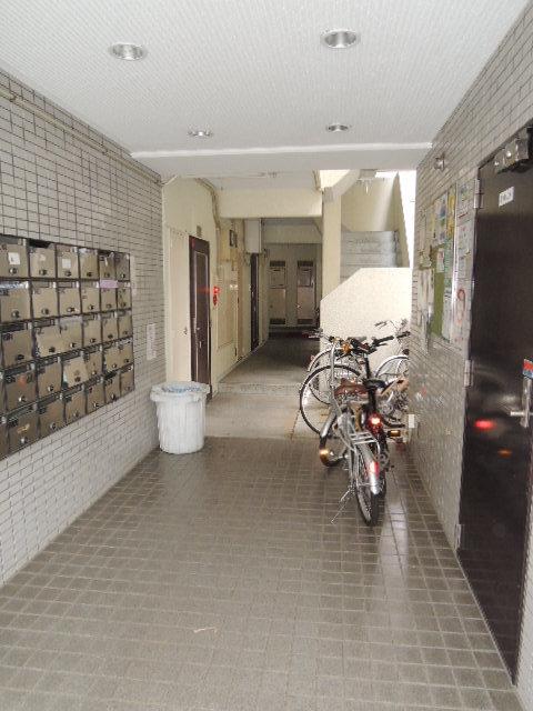 スカイコート西横浜エントランス