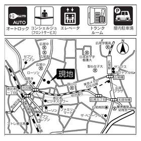 プライムスクェアシティ案内図