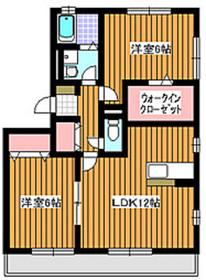 マ・メゾン3階Fの間取り画像