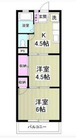 興和ビル3階Fの間取り画像