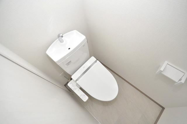 ヴェルドミール小阪 清潔感のある爽やかなトイレ。誰もがリラックスできる空間です。