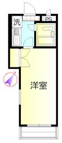 ジョイ北浦和3階Fの間取り画像
