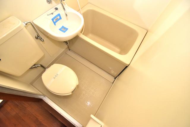 プレアール舎利寺 シャワー一つで水回りが掃除できて楽チンです