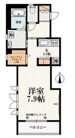 東伏見駅 徒歩24分3階Fの間取り画像