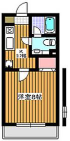 サンハウストーユー1階Fの間取り画像