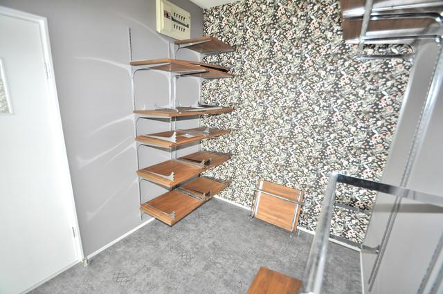 第2シャトー新町 もちろん収納スペースも確保。おかげでお部屋の中がスッキリ。