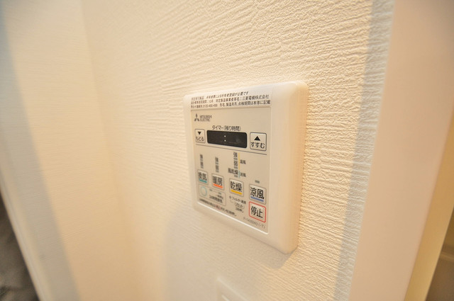 レジュールアッシュOSAKA新深江 浴室乾燥機付きで梅雨の時期も怖くありません。