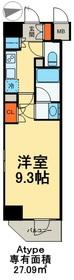 カリーノ入谷4階Fの間取り画像