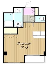 ロイヤルパレス渋谷3階Fの間取り画像