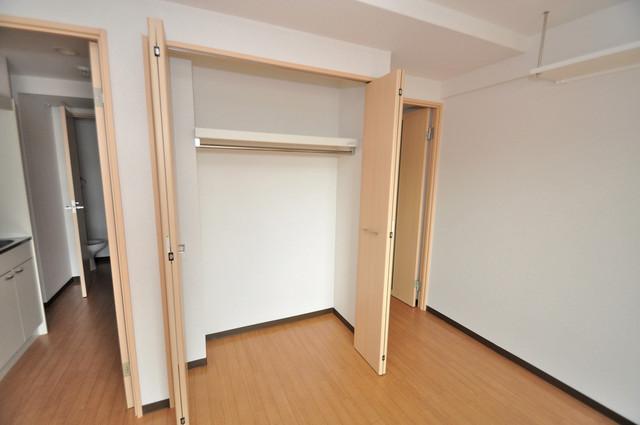 M'プラザ布施弐番館 もちろん収納スペースも確保。いたれりつくせりのお部屋です。