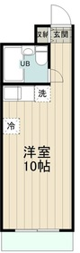 Ts garden永山(ティーズガーデン永山)3階Fの間取り画像