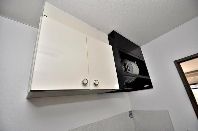 アネックスサンタオ キッチン棚も付いていて食器収納も困りませんね。