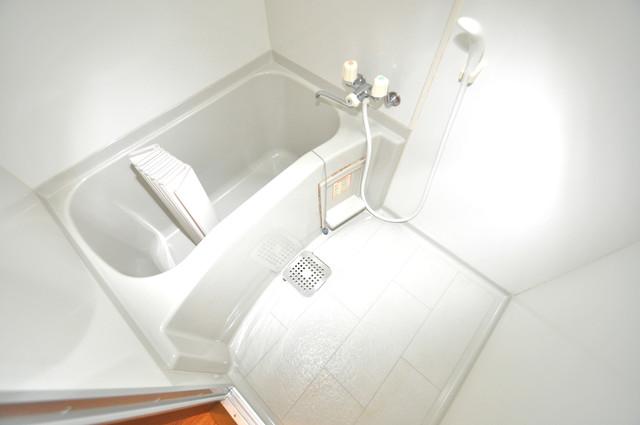 ニッコーハイツ俊徳 ちょうどいいサイズのお風呂です。お掃除も楽にできますよ。