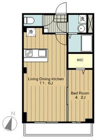 ラ・シルフィード3階Fの間取り画像