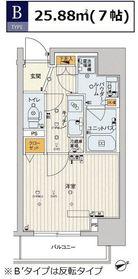 スカイコートTOKYOスカイツリー8階Fの間取り画像