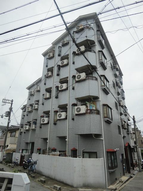 大阪市東住吉区駒川3丁目の賃貸マンションの外観